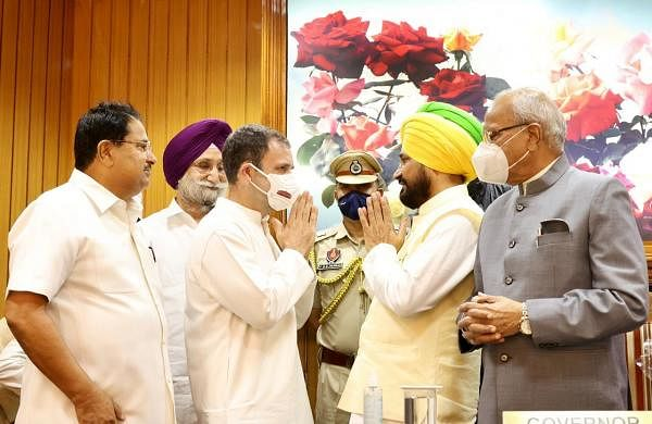 'I am aam aadmi, mine is govt of the poor': Charanjit Singh Channi sworn in as Punjab CM