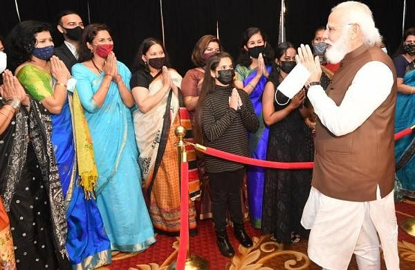 Indian diaspora has distinguished itself across the world: PM Narendra Modi in US
