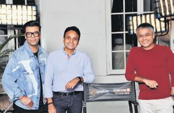 Dharma Productions and Viacom18 sign four film deal