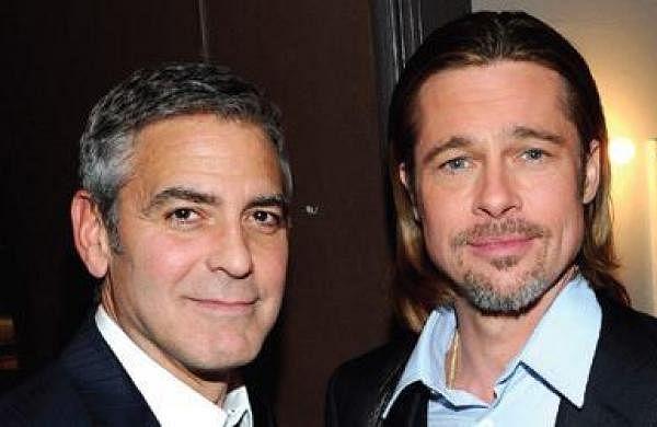 George Clooney -Brad Pitt movie package sparks bidding war