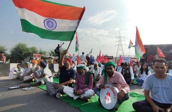 Heavy traffic jams choke Delhi-NCR borders due to 'Bharat bandh' protest by farmers