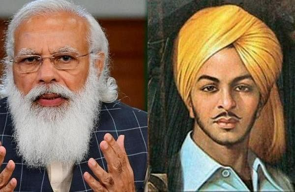'He lives in heart of every Indian': PM Modi's tribute toBhagat Singh on 114th birth anniversary