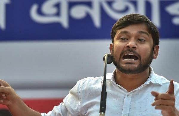 Before joining Congress, Kanhaiya Kumar removes AC from CPI's Patna office
