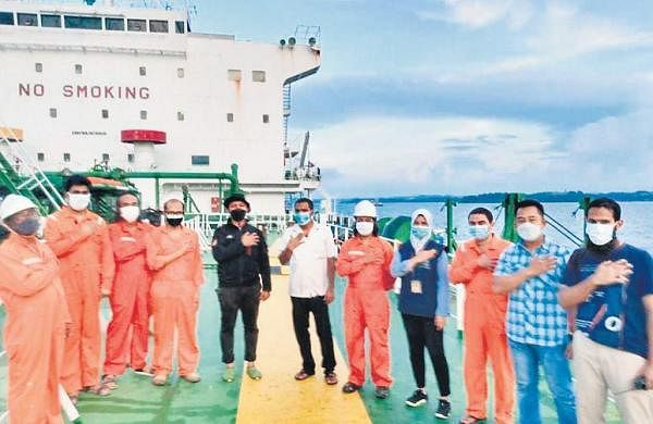 13 Indian sailors caught in Indonesia over oil row seek govt intervention